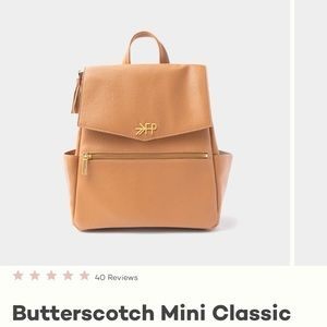 Freshly picked butterscotch mini backpack